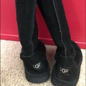 UGG Black Tall Boots
